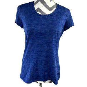 Athleta Lightweight Shadow Stripe Chi Tee Shirt